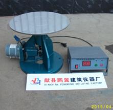 NLD-3型水泥胶砂流动度测定仪|电动跳桌【鹏翼仪器】